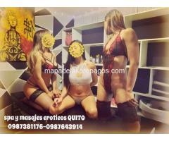 masajes eroticos cuerpo a cuerpo en QUITO SPA