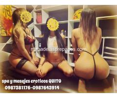 masajes eroticos con final feliz en QUITO SPA