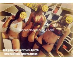 elegantes masajistas eroticas en QUITO SPA