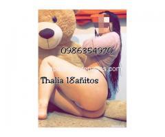 Chicas prepagos GYE /SAMBORONDÓN..0986354970 , Thalía 18 años