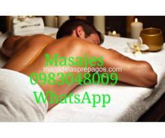 QUIERES PROBAR LA INTNSIDAD DE UN MASAJE EROTICO 0958854028