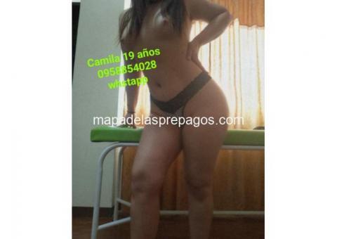 CAMILA 19 AÑOS 0958854028