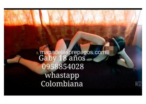 GABY SEXY COLOMBIANA DELICIOSA 18 AÑOS SERVICIO COMPLETO