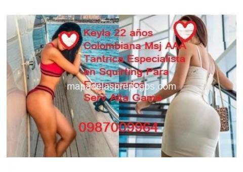Keyla MOD AAA te espera con un delicioso Relax Satisfacción Garantizada 0987009964