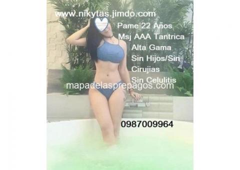 Promo Masaje Sensitivo c/F. Feliz junto a Bellas con Trago de Gentileza 0987009964