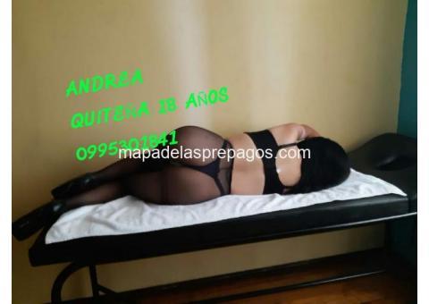 AMOR SOY ANDREA UNA SEXY QUITEÑA TE ESPERO EN MI DEPARTAMENTO