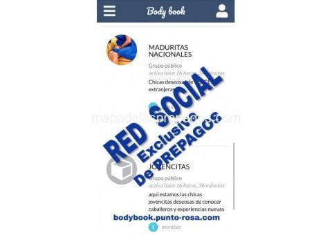 RED SOCIAL EXCLUSIVA DE PREPAGOS