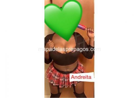 ????Hola soy Andreita negrita y bien apretadita????¡¡VEN Y APROVECHA MI PRO!!