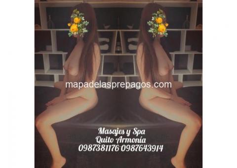 masajes eroticos armonia  0987643914 QUITO