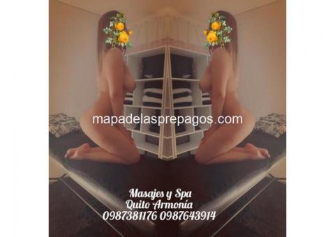 30 dlrs media hora de placer masajes eroticos en quito