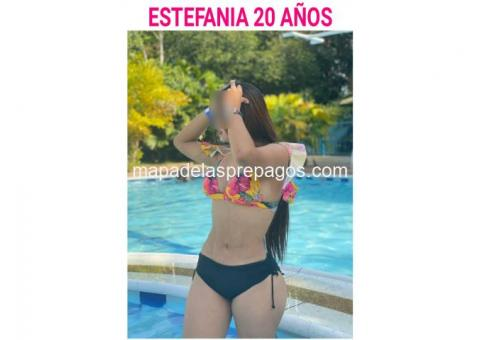 EN LAGO AGRIO TENEMOS UNA BELLA COLOMBIANA DISPONIBLE.