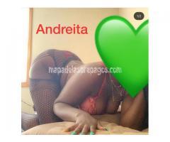 Hola soy Andreita negrita y bien apretadita????????