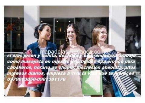 trabajo de dama de compañia para ECUATORIANAS