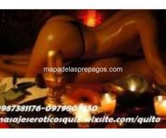 Instalaciones desinfectadas y esterilizadas masajes eróticos en QUITO