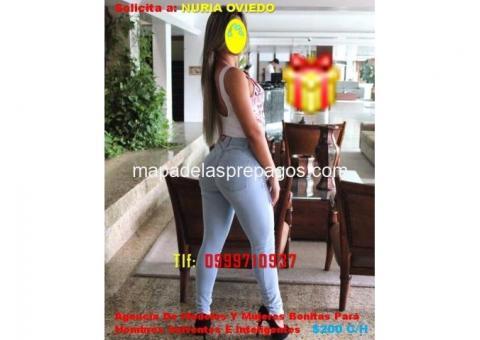 ¡DE LO RICO! Chica Simpática, fina, De Cuerpo Atractivo ¡EN ALTO NIVEL!