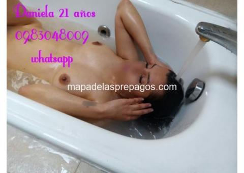 SOY DANIELA TENGO 21 AÑOS TE ESPERO PARA HACER TRAVESURAS