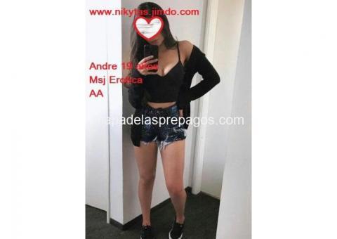 Andre Msj AA universitaria de 19 años 0987009964