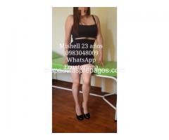 MISHELL LINDA ECUATORIANA 0958854028