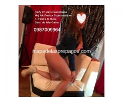 Stefy Sensual colombianita Hot espera para complacerte 0987009964